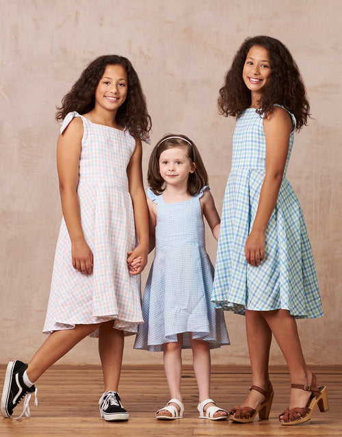 Little Flora Girls Dress Sewing Pattern, By Hand London