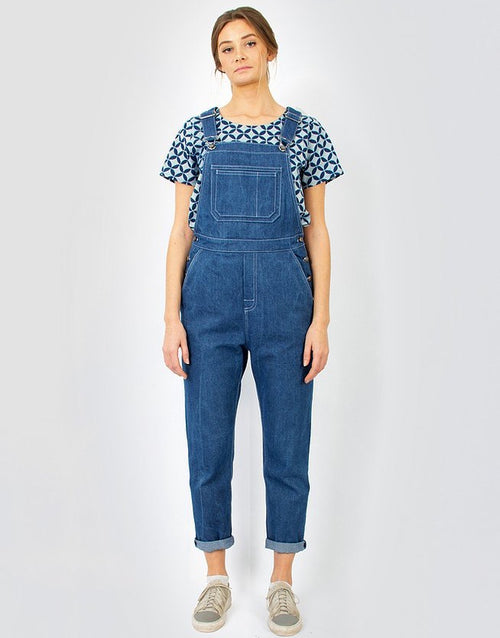Anna Dungarees Sewing Pattern, Monsterfabriken