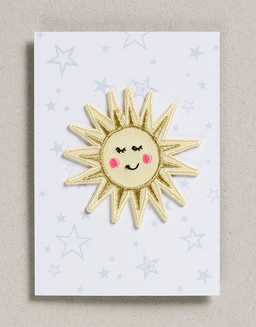 Sunshine Iron on Patch