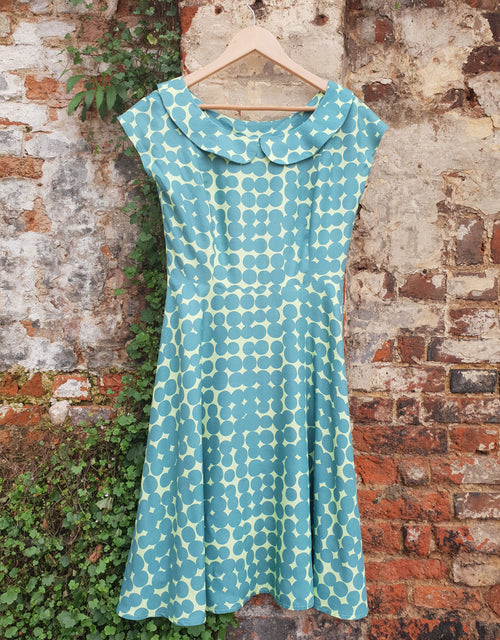 Clothkits Spot 1950s Tea Dress, Ladies Dressmaking Kit