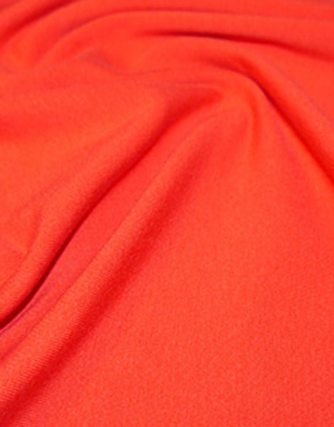 Red Cotton Jersey Fabric