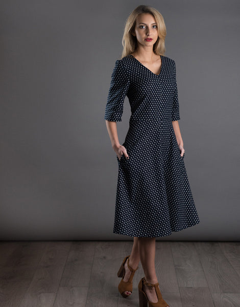 The A-Line Dress, The Avid Seamstress Sewing Pattern