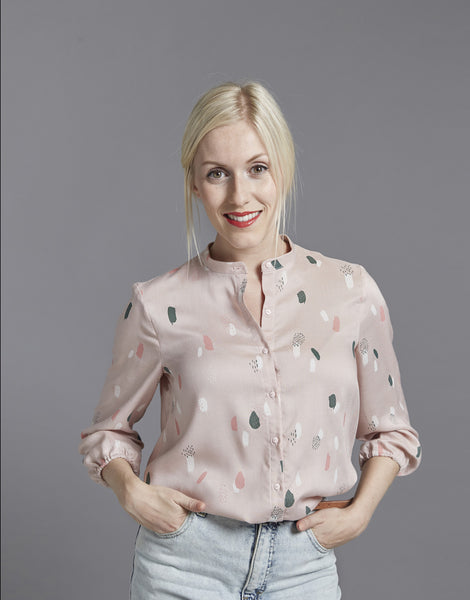 The Blouse, The Avid Seamstress Sewing Pattern