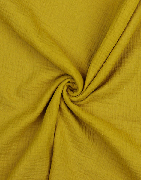 Ochre Cotton Organic Double Gauze