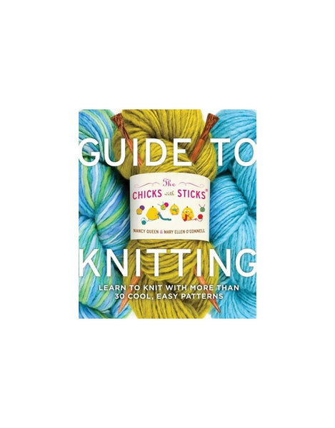 Chicks with Sticks Guide to Knitting, Knitting Book