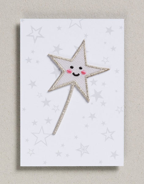 Star Wand Iron on Patch