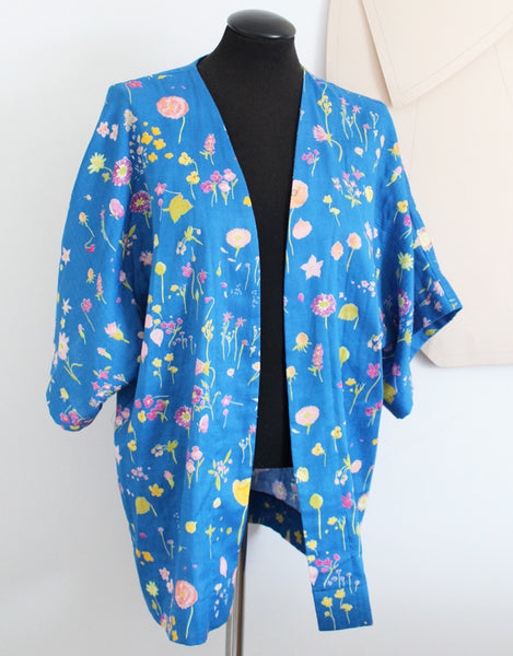 Simple Kimono Jacket Sewing Pattern