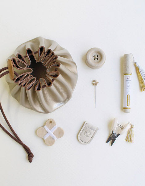 Cohana Winter Gold Limited Edition Sewing Set