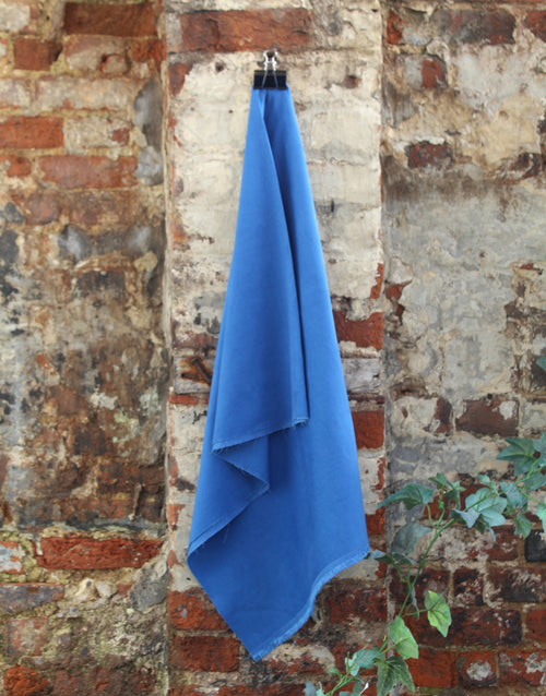 Cotton Baby Corduroy Fabric, Royal Blue