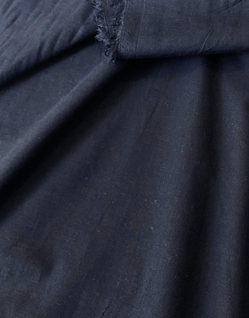 Navy Blue Cotton Voile Fabric