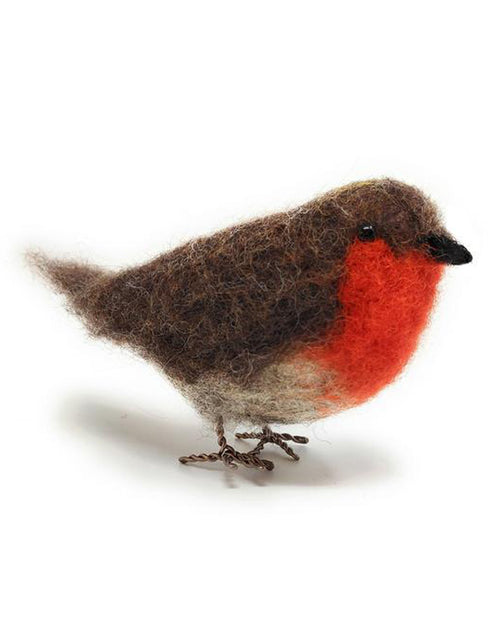 Robin Needle Felting Kit, Crafty Kit Company
