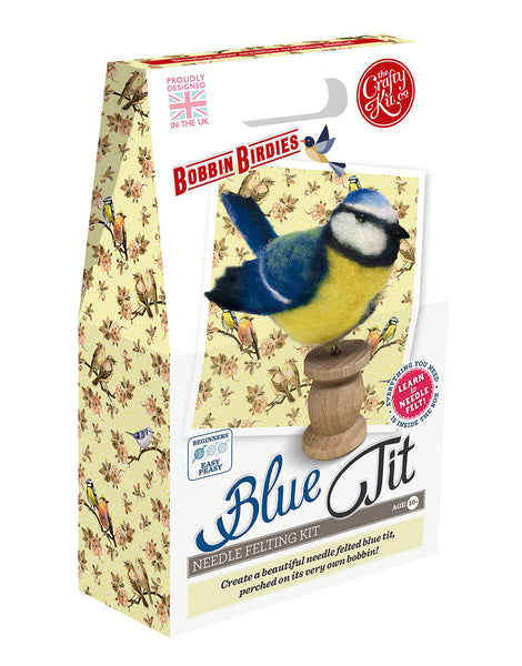 Blue Tit Needle Felting Kit