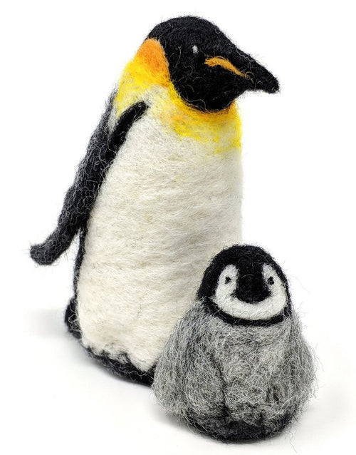Emperor Penguin Needle Felting Kit, Crafty Kit Company