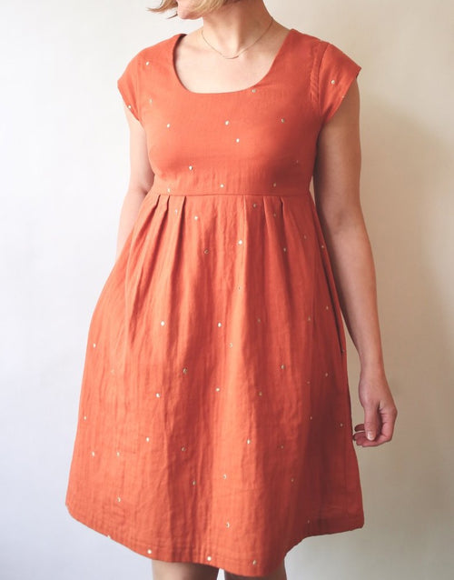 Trillium Dress & Top Sewing Pattern, Made by Rae