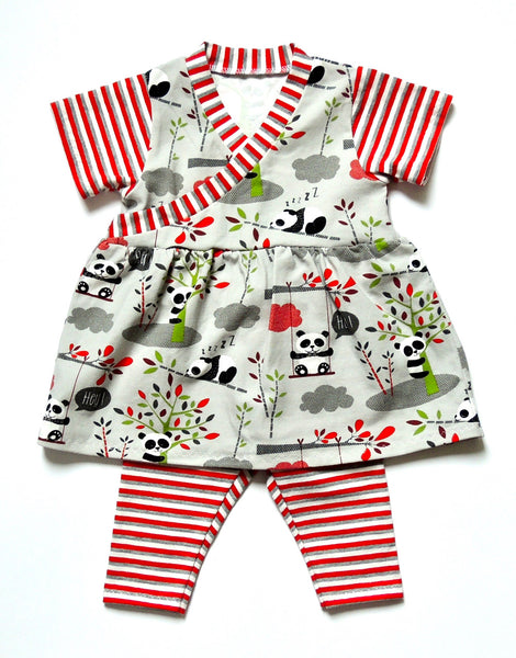 Flo Dress & Riley Leggings Sewing Pattern for Babies, Dhurata Davies
