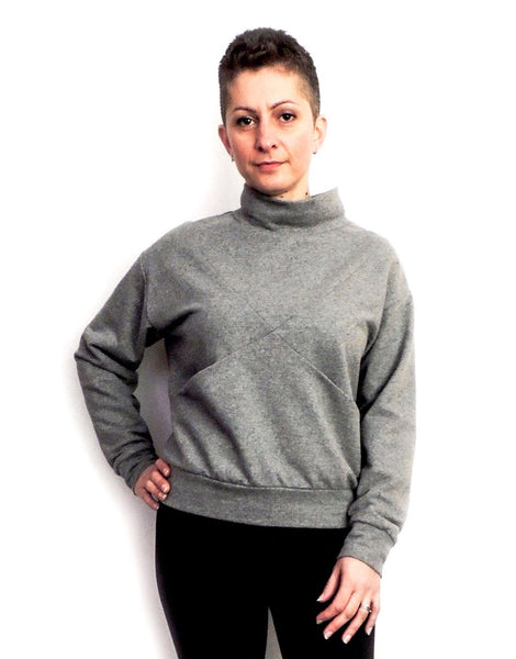 Maxine Sweater Sewing Pattern, Dhurata Davies