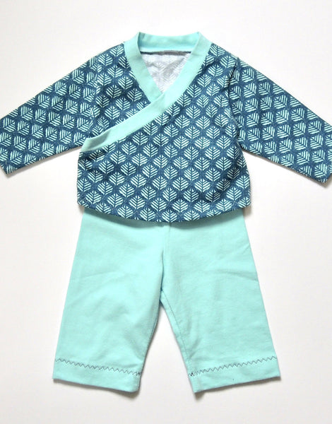 Roo Top & Marley Bottoms Sewing Pattern for Babies & Toddlers, Dhurata Davies