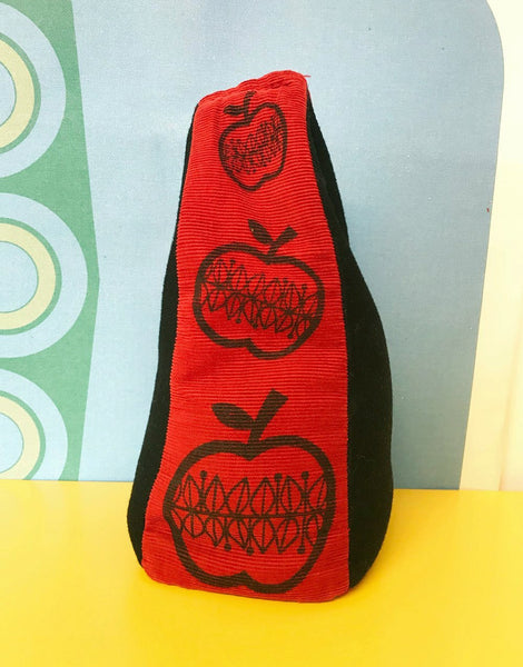 Red Apple Door Stop, Clothkits Sewing Kit