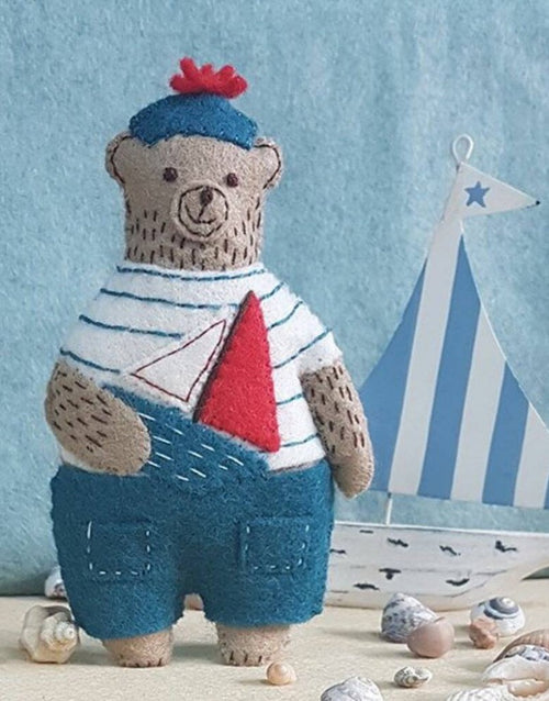 Marcel the Sailor Bear Felt Craft Kit, Corinne Lapierre