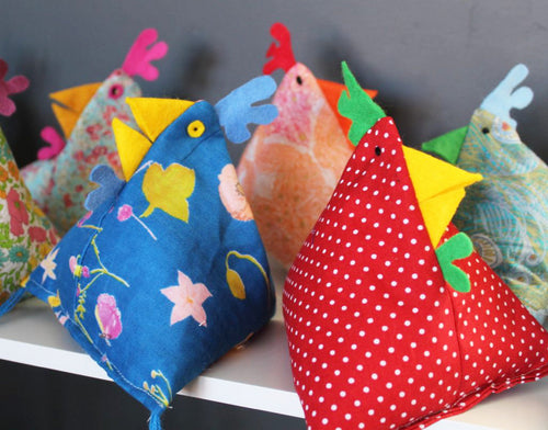 Funky Chicken Workshop | Chichester Childrens' Sewing Workshops