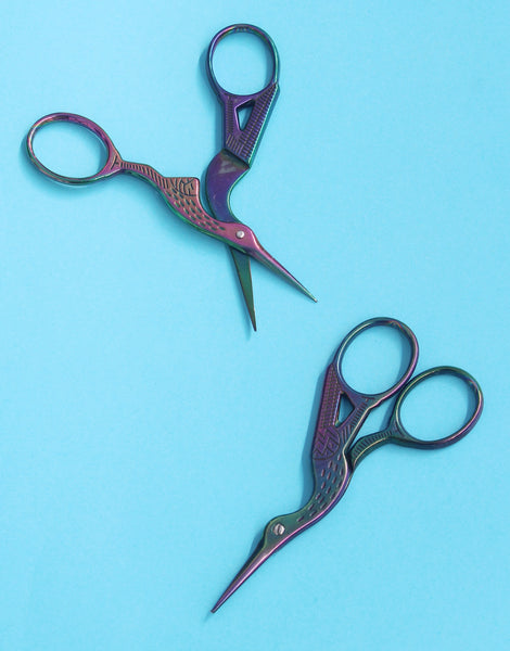 Bird Embroidery Scissors