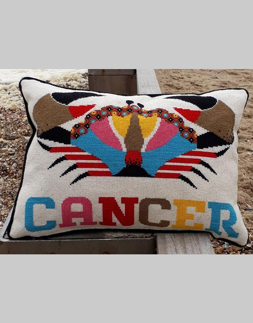 Emily Peacock Tapestry Kit, Cancer