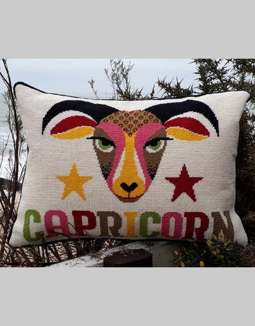 Emily Peacock Tapestry Kit, Capricorn