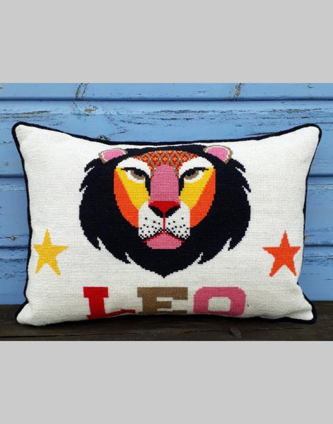 Leo Star Sign Emily Peacock Tapestry Kit