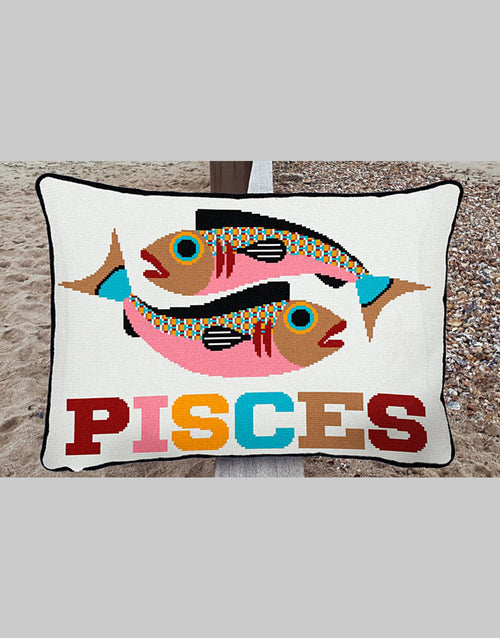 Pisces Star Sign Emily Peacock Tapestry Kit