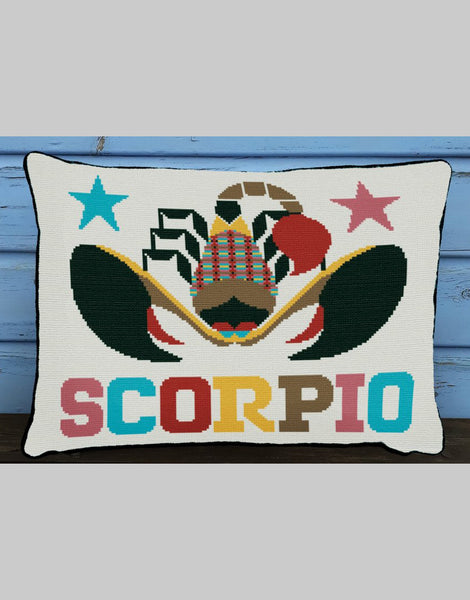 Scorpio Star Sign Emily Peacock Tapestry Kit