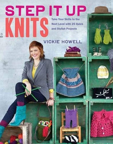 Step It Up Knits, Vickie Howell
