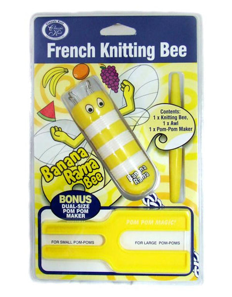 The French Knitting Bee and Pom Pom Maker