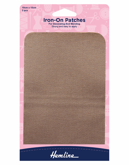Fawn Iron On Patches, Hemline 2 Pcs