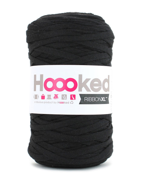 Recycled Fibre Yarn, Black Night
