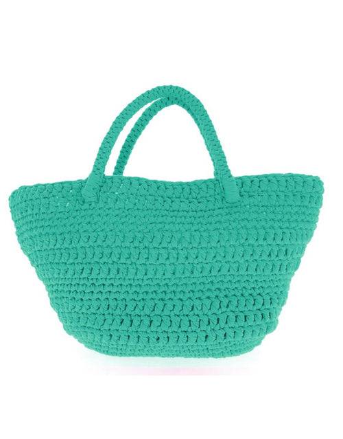 Turquoise Avila Beach Bag Crochet Kit