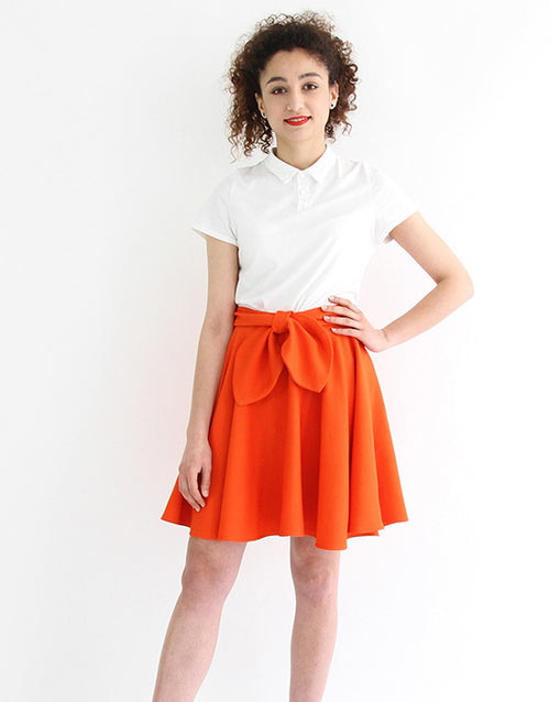 Felicie Skater Skirt Sewing Pattern, I AM Patterns
