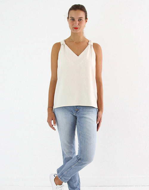 Gaجّa Camisole Top Sewing Pattern, I AM Patterns