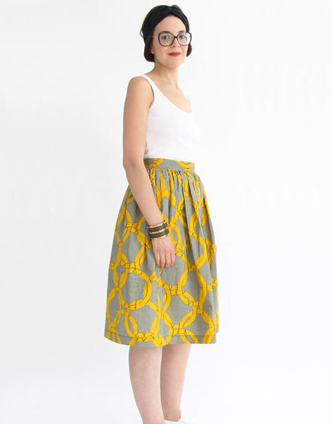 Hestia Skirt Sewing Pattern, I AM Patterns