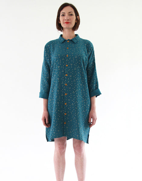 Lucienne Shirt & Dress Sewing Pattern, I AM Patterns