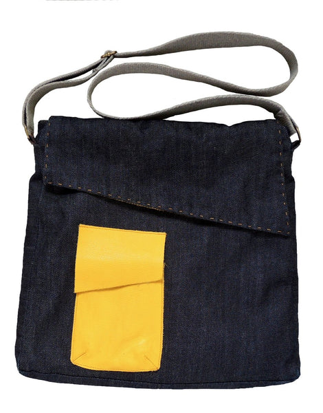 Messenger Bag Sewing Pattern by Dhurata Davies