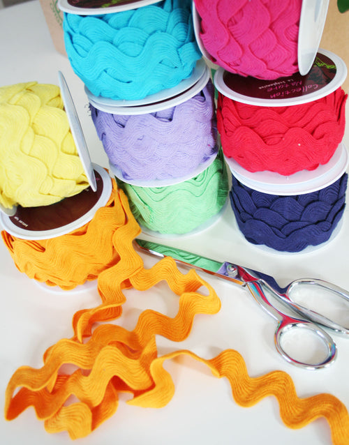 Ric Rac Trim, Various Colours, Large