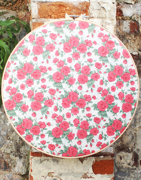 Carline Rose A Red, Liberty Print Tana Lawn