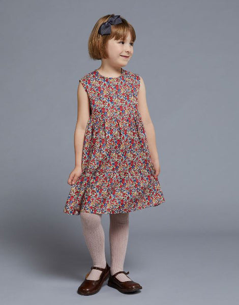 Liberty Mabel Tiered Dress Girls's Sewing Pattern