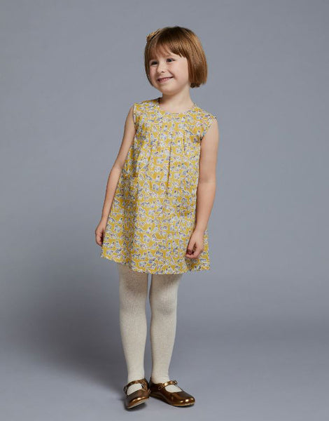Liberty Penny Collar Dress Girls Sewing Pattern