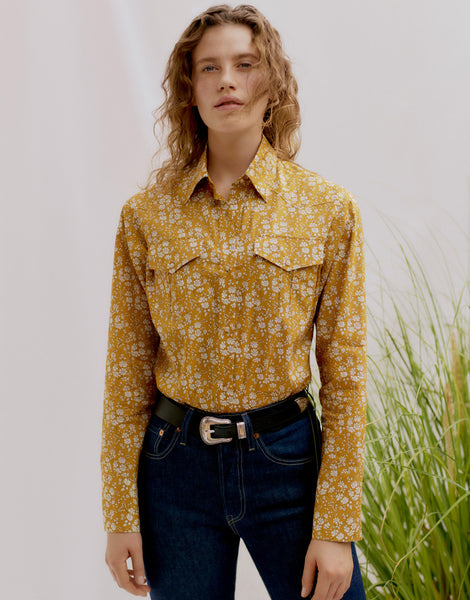 Liberty Camargue Cowboy Shirt Sewing Pattern
