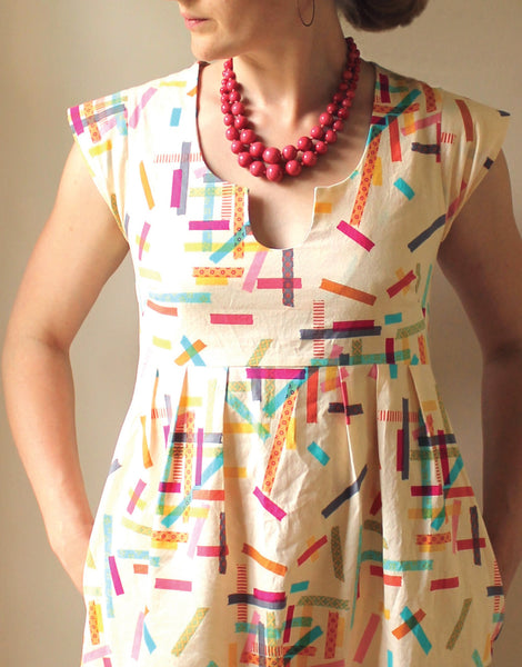 Washi Dress & Tunic, Made by Rae Sewing Pattern