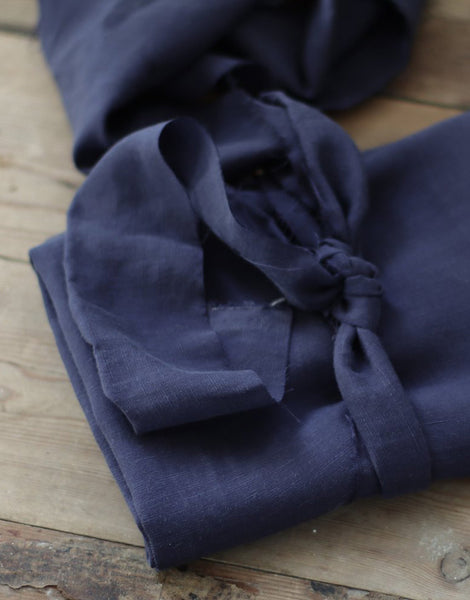 Blueberry Slub Tencel Linen Blend Fabric, meet MILK