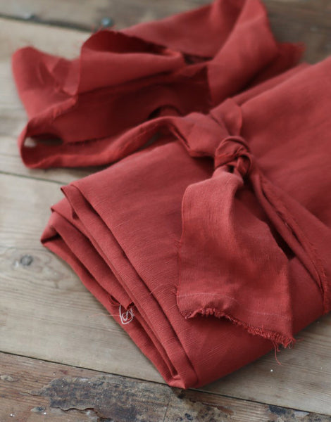 Cider Slub Tencel Linen Blend Fabric, meet MILK