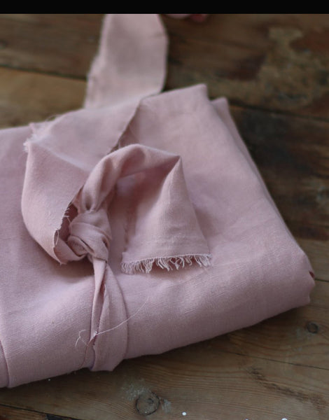 Puff Tencel Linen Blend Fabric, meet MILK