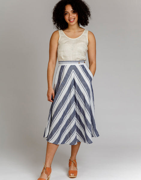 Wattle Skirt Sewing Pattern, Megan Nielsen